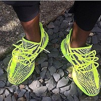Hipgirls Adidas Yeezy Boost 350 V2 Breathable Sport Running Shoes- Best Deal Online