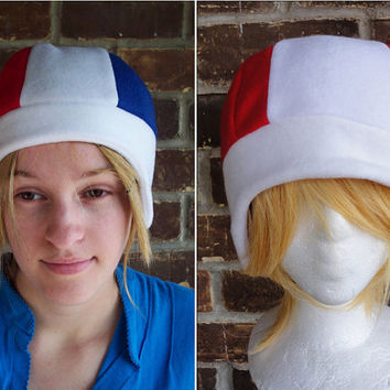 France or Canada Flag Style Hat