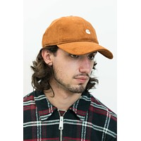 Harlem Cord Cap in Brandy/Wax