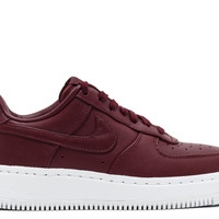 Nikelab Air Force 1 Low - Nike - 555106 661 - night maroon/night maroon-wht | Flight Club