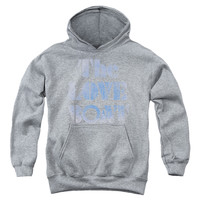 LOVE BOAT/DISTRESSED-YOUTH PULL-OVER HOODIE-ATHLETIC HEATHER