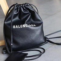 Balenciaga Women's Leather New Backpack Bag #1800