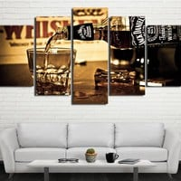 JACK DANIEL CANVAS WALL PRINT