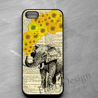Elephant Print iPhone 6 / iPhone 6 Plus case, iPhone 4 / 4s / 5 / 5s /5c case, Samsung Galaxy S3 / S4 / S5 case, Samsung Note 2, Note 3 case