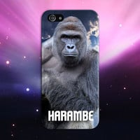 I Did It For Harambe x Gorilla Phone Case Texture iPhone 6 iPhone 6 Plus Tough iPhone Case Galaxy S7 Samsung Galaxy Case Printed CASE ESCAPE