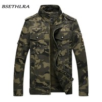 BSETHLRA 2018 Camouflage Jacket Men Autumn Army Military Outwear Jaqueta Masculino Fashion Windproof Coats Male Jackets Homme