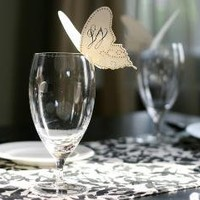 SALE Butterfly Place Cards by TimelessPaper on Etsy