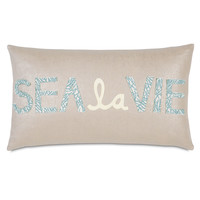 Eastern Accents Coastal Tidings Sea La Vie Decorative Pillow