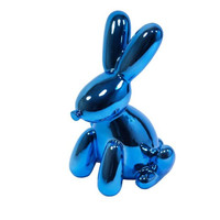Made By Humans Balloon Bunny Munny Bank - Blue