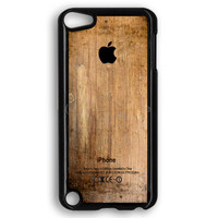 Grunge Wood Print iPod Touch 5 Case