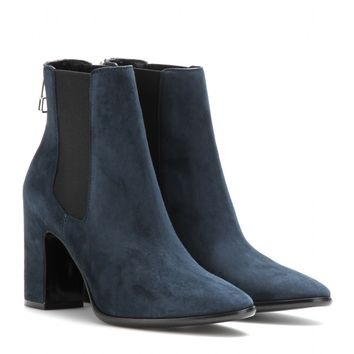balenciaga - charlotte suede ankle boots