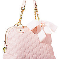 BetseyJohnson.com - ONE AND ONLY NOW DOME BAG BLACK