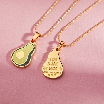 You Guac My World Color Infusion Expandable Necklace