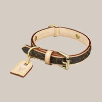 Baxter Dog Collar PM - Louis Vuitton - LOUISVUITTON.COM