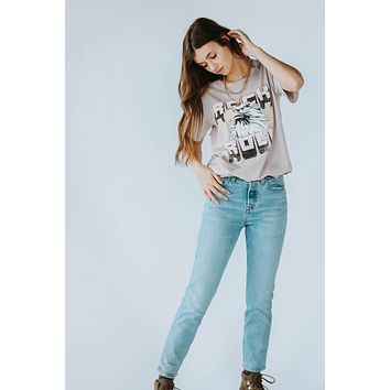 Rock + Roll Rose Graphic Tee