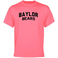 Baylor Bears Pop of Pink T-Shirt - Pink