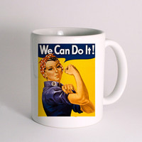 We Can Do It Rosie for Mug Design