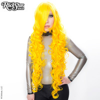 "Cosplay Wigs USA™  Curly 90cm/36"" - Yellow -00378"
