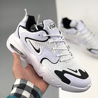 NIKE AIR MAX 2X black and white panda daddy shoes sneakers