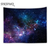 Galaxy Psychedelic tapestry Wall Hanging Galaxia Decorativa Space Pattern Wall Rug Home Decorative Tapestries