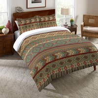Country Mood Sage Comforter