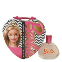 Barbie Metalic Heart Eau De Toilette Spray By Mattel