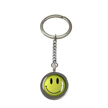 Smiling Face Pendant Keychain