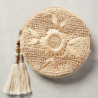 Strawflower Pouch by Anthropologie Neutral One Size Clutches