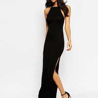ASOS High Neck Stappy Back Maxi Dress