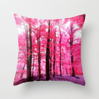 Dreaming away... altered photography Throw Pillow by Stephanie Koehl