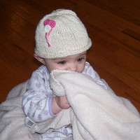 Organic baby hat- Balloons with multiple color options, fairtrade, USA made cotton
