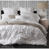 Barclay White Quilt Cover Set by Private Collection - Just Bedding