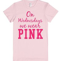 Pink Wednesday-Female Light Pink T-Shirt