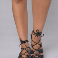 Vista Sandal - Black