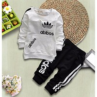 SHYH Infant Newborn Clothes Set Spring Autumn Baby Girl Boy Clothing Tracksuit Warm Fashion Brand Cotton Jacket Pants 2Pcs/sets