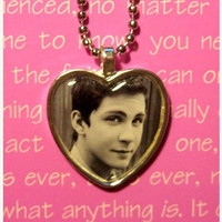Logan Lerman (The Perks of Being a Wallflower/Percy Jackson) pendant charm necklace