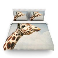 "Angie Turner ""Giraffe"" Animal Featherweight Duvet Cover"