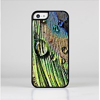 The Watered Peacock Detail Skin-Sert Case for the Apple iPhone 5c