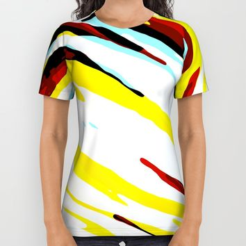 Trippy Panda 8 All Over Print Shirt by HappyMelvin Graphicus