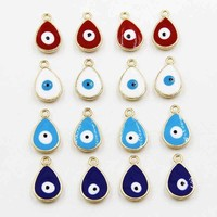 100pcs 20mm The evil eye alloy beautiful small pendant, yiwu small commodity  2016  YSK-222
