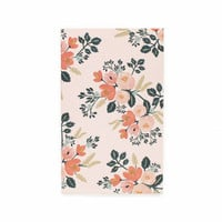 Botanical Rose Small Notepad with Pocket