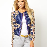 ASOS | ASOS Jacket in Floral Mix Print at ASOS
