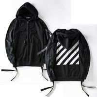Zippers Hoodies Hip-hop Hats Print Jacket [10585148359]