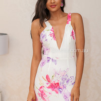 The Floral Nights Dress