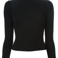 Carven ribbed turtle neck sweater