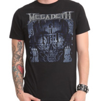 Megadeth The Skull Beneath The Skin T-Shirt