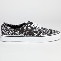Vans Star Wars Authentic Mens Shoes Stormtrooper Bandana  In Sizes