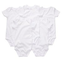Carter's Baby 5-pk. Solid Bodysuits, Size: