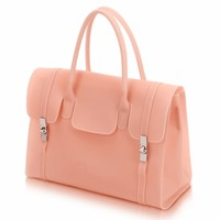 Candy Color Silicon Clutch Bag For Summer