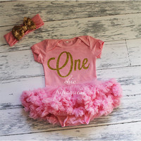 Smash Outfit, 6 month outfit, Glitter Onesuit, Gold Glitter Birthday Onesuit, Gold Birthday, Glitter Shirt, 6 Months, One Year Birthday, Baby